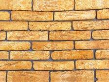 Декоративный камень Брянский Старинный кирпич Желтый