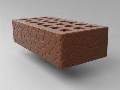 Кирпич керамический Саранский облицовочный одинарный какао черепаха