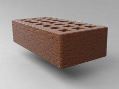 Кирпич керамический Саранский облицовочный одинарный какао кора дуба