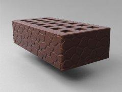 Кирпич керамический Саранский облицовочный одинарный светло-коричневый черепаха