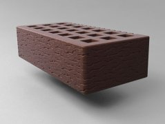 Кирпич керамический Саранский облицовочный одинарный шоколад кора дуба
