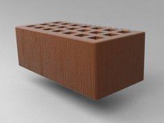 Кирпич керамический Саранский облицовочный полуторный какао дерюга