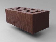 Кирпич керамический Саранский облицовочный полуторный шоколад дерюга