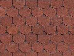 Гибкая черепица Шинглас серия Классик коллекция Танго цвет Кленовый