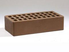 Кирпич керамический Воротынский облицовочный одинарный терракотовый с утолщенной стенкой
