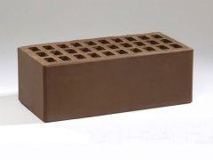 Кирпич керамический Воротынский облицовочный полуторный терракотовый с утолщенной стенкой