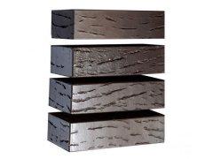 Кирпич керамический Магма Keramik & Klinker облицовочный одинарный флеш-обжиг Антик графит