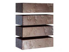 Кирпич керамический Магма Keramik & Klinker облицовочный одинарный флеш-обжиг Сахара графит
