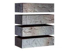 Кирпич керамический Магма Keramik & Klinker облицовочный одинарный флеш-обжиг Сланец графит