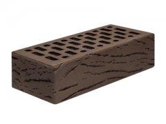 Кирпич керамический Магма Keramik & Klinker облицовочный одинарный шоколад антик
