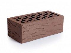Кирпич керамический Магма Keramik & Klinker облицовочный полуторный шоколад антик
