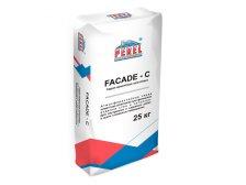 Серая цементная шпатлевка Perel FACADE-C