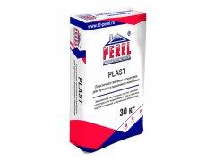 Пластичная гипсовая штукатурка для ручного и машинного нанесения Perel PLAST белая