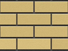 Кирпич силикатный Глубокинский облицовочный полуторный желтый