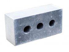 Кирпич силикатный ВКСМ облицовочный полуторный окрашенный дымчатый