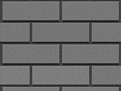 Кирпич силикатный Глубокинский облицовочный полуторный черный гладкий