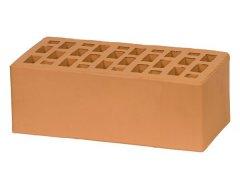 Кирпич керамический Воротынский облицовочный полуторный персиковый с утолщенной стенкой
