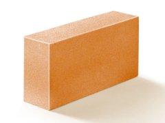 Кирпич силикатный Михайловский облицовочный одинарный полнотелый оранжевый