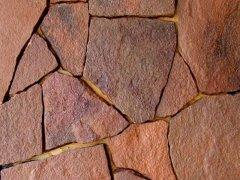Декоративный камень Россия красный 1,5 см