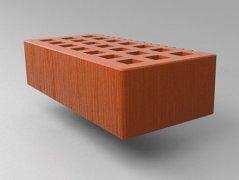 Кирпич керамический Саранский облицовочный одинарный красный дерюга
