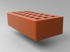Кирпич керамический Саранский облицовочный одинарный красный гладкий